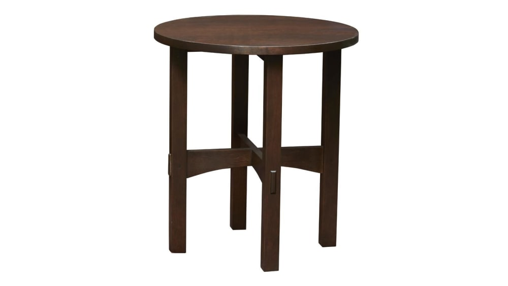 Stickley Round Tabouret Table