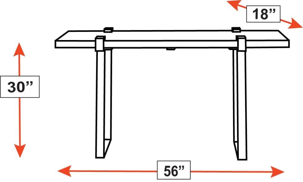 Santa Fe Sofa Table, , hi-res