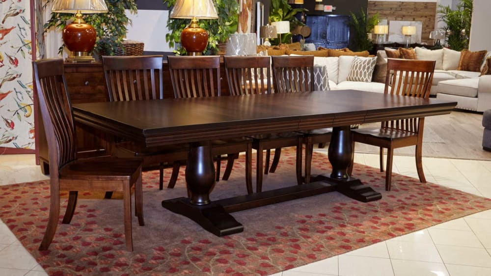 Java Dining Table with Baytown Chairs, , small