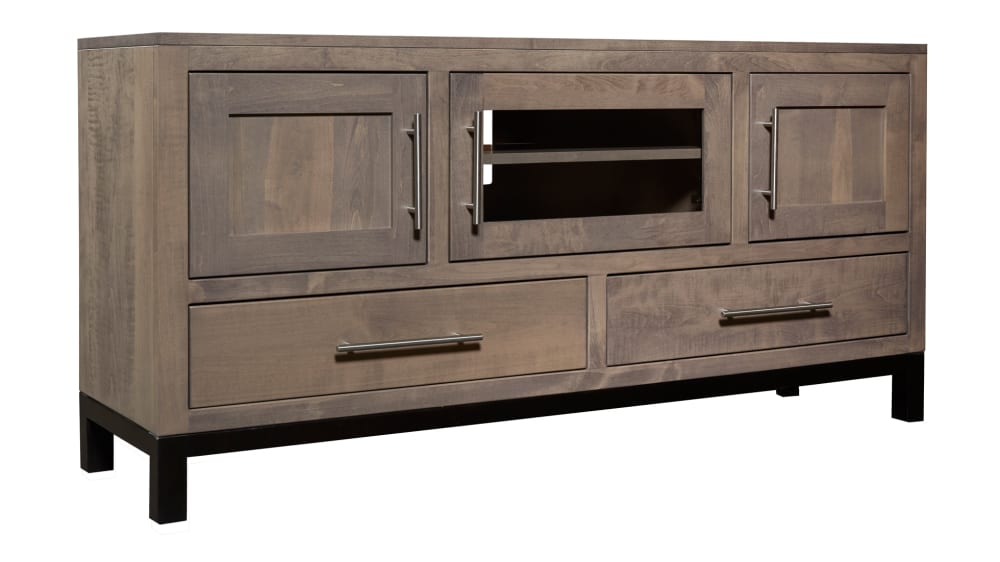 "Driftwood Two-Tone 60"" TV Stand"