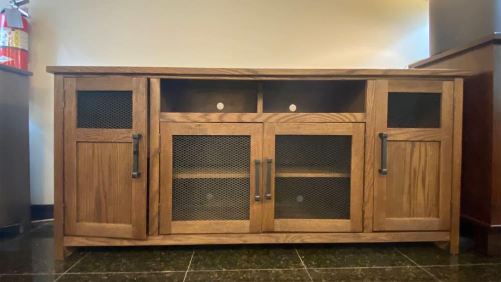 "Maison Bourbon Oak 69"" TV Stand"