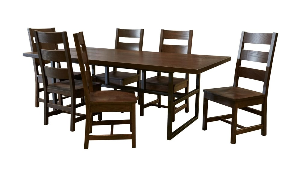 Manhattan Dining Table & 6 Chairs, , hi-res