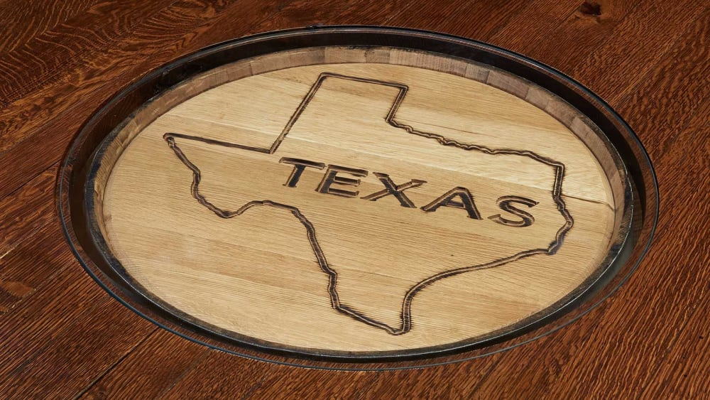 "Texas 54"" Whiskey Barrel Table, , hi-res"