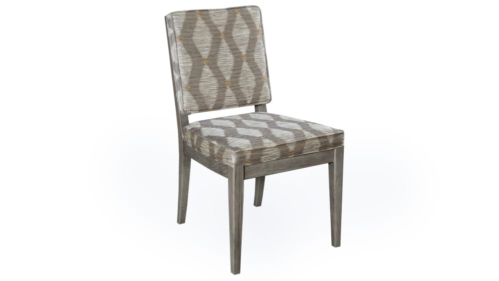 Stickley Logan Fieldstone Grey Dining Chair, , hi-res