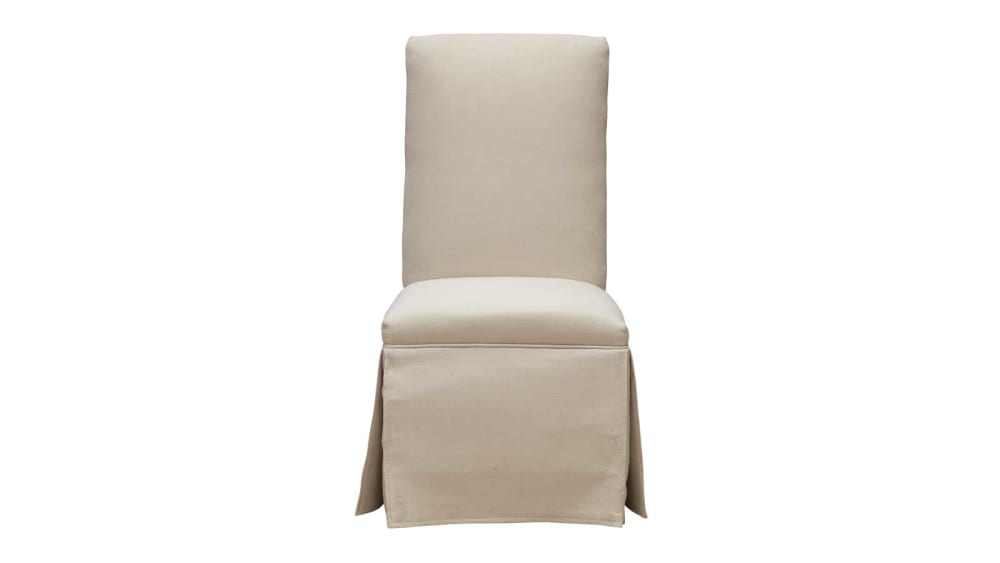 Bellaire Skirted Parsons Chair