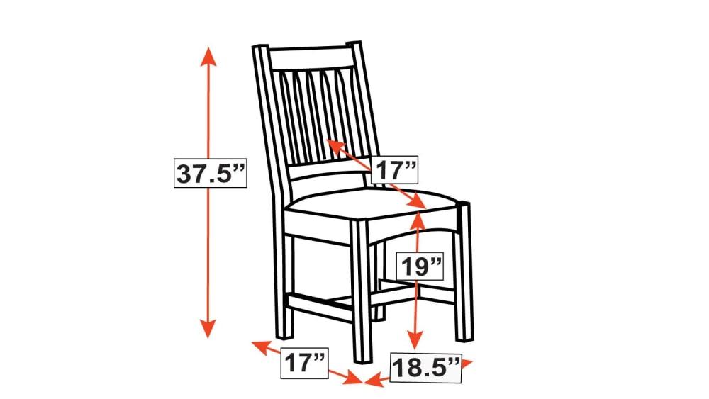 Stickley Cottage Side Chair, , hi-res