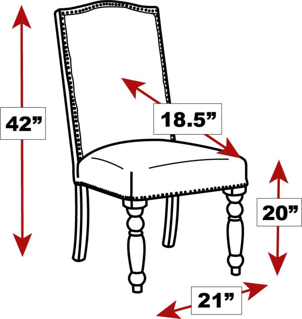 Round Rock Leather Dining Side Chair, , hi-res