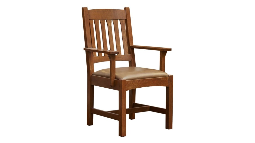 Stickley Cottage Arm Chair, , hi-res