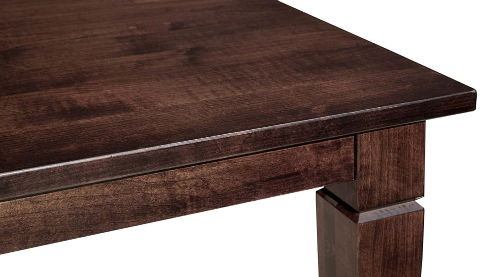 Savanna Maple Rich Tobacco Dining Table