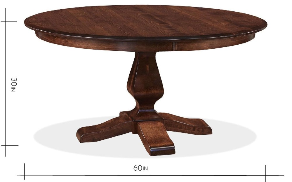 "Weston 60"" Round Dining Table, , hi-res"