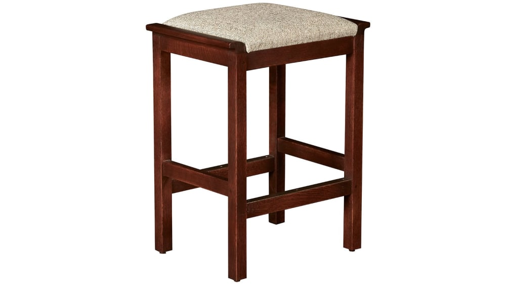 Stickley Mission Backless Lipped Stool