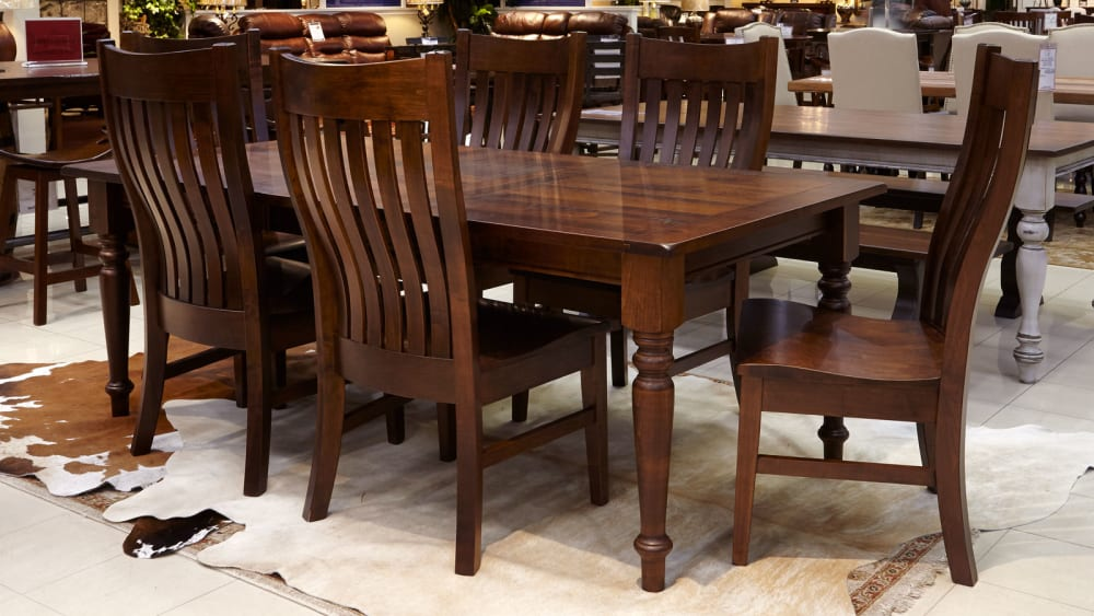 Grapeland Dining Table with Bexar County Chairs, , small