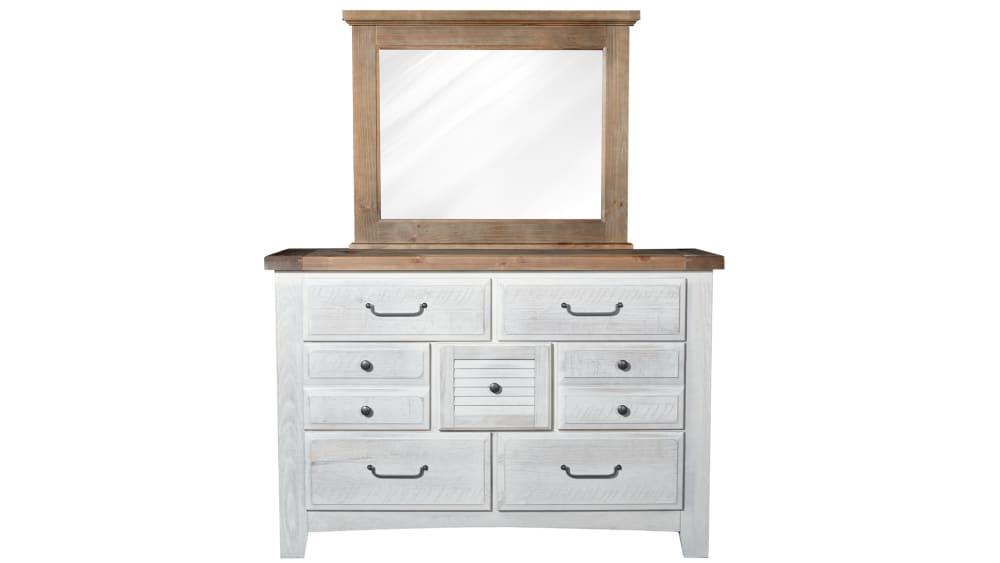 Sea Biscuit Dresser and Mirror