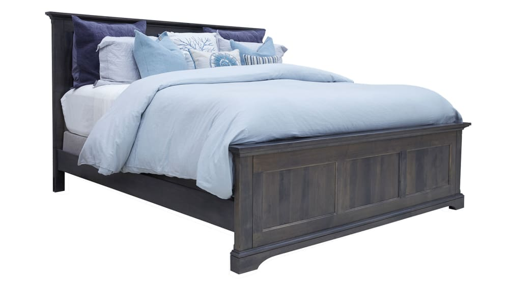 Heights BLVD Antique Slate King Bed