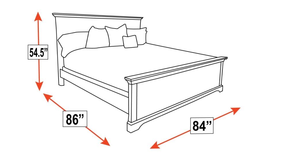 Gladewater King Bed, , hi-res