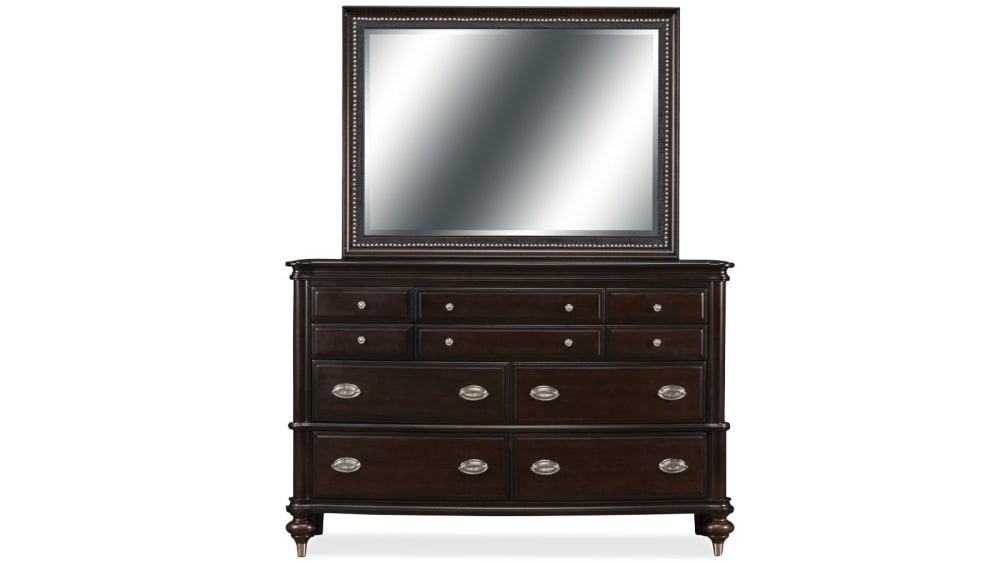 Orleans Dresser and Mirror