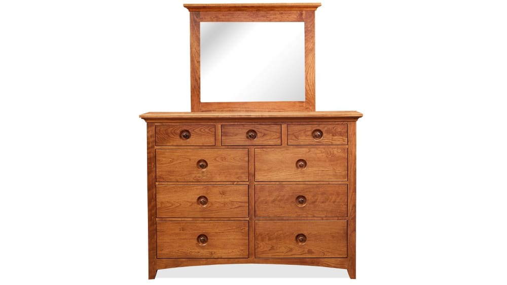 Childress Cherry Dresser & Mirror