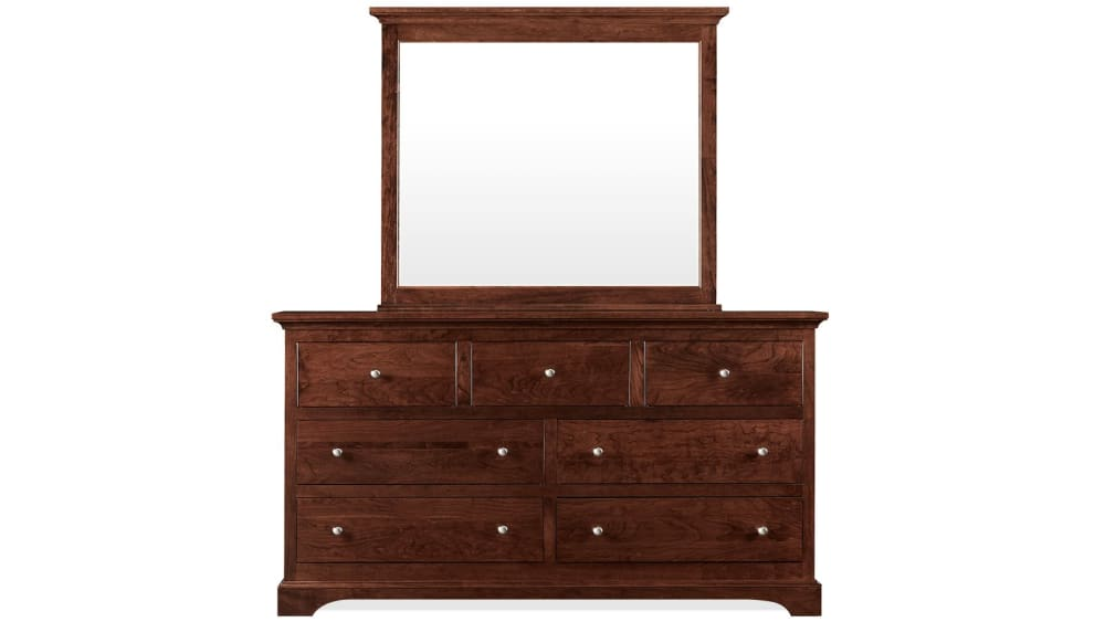Gladewater Dresser and Mirror
