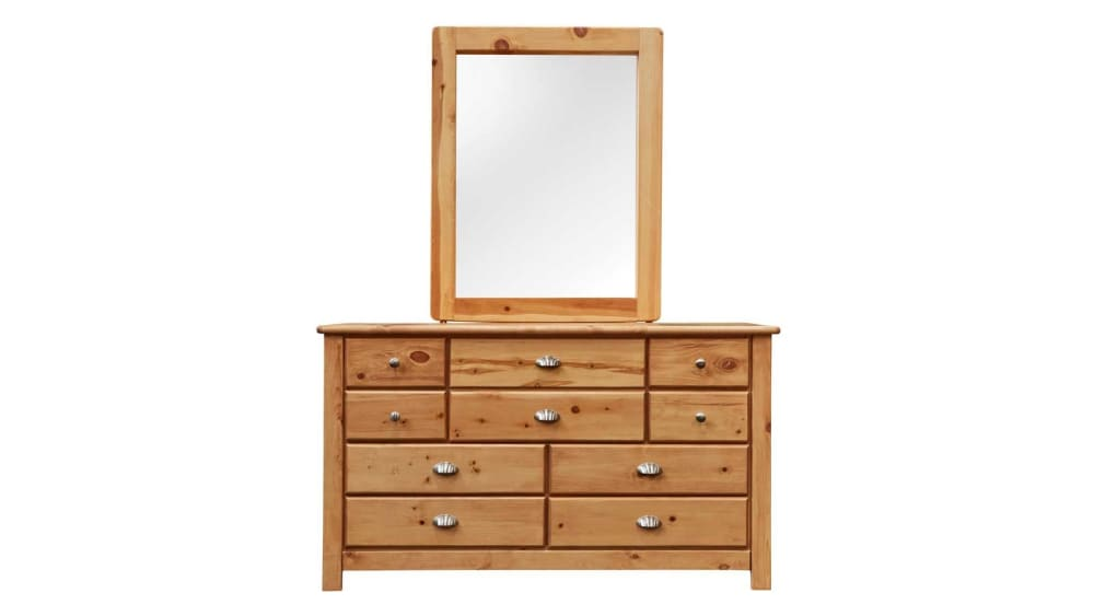 Turkey Creek Caramel Dresser & Mirror, , hi-res