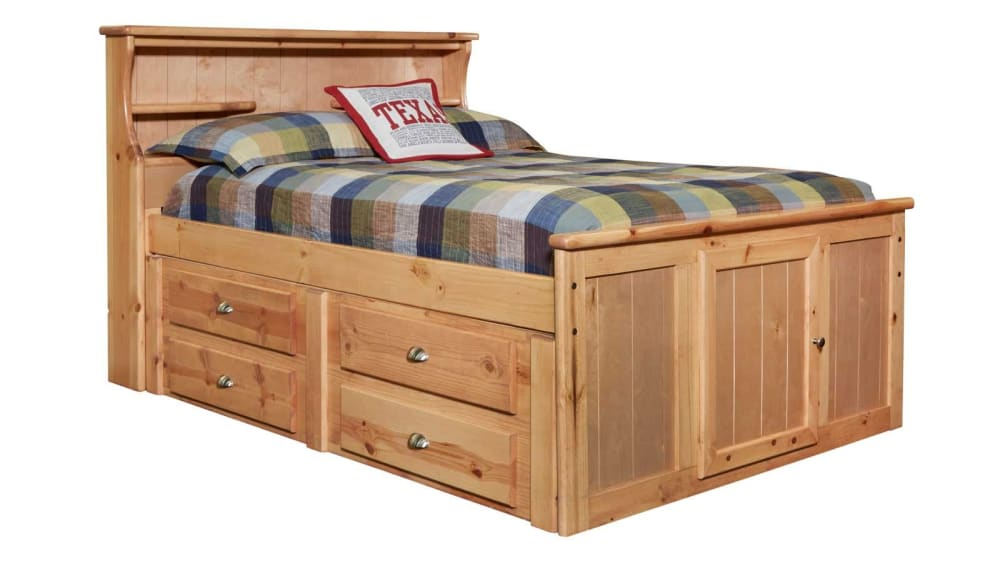 Turkey Creek Caramel Twin Bed, , hi-res