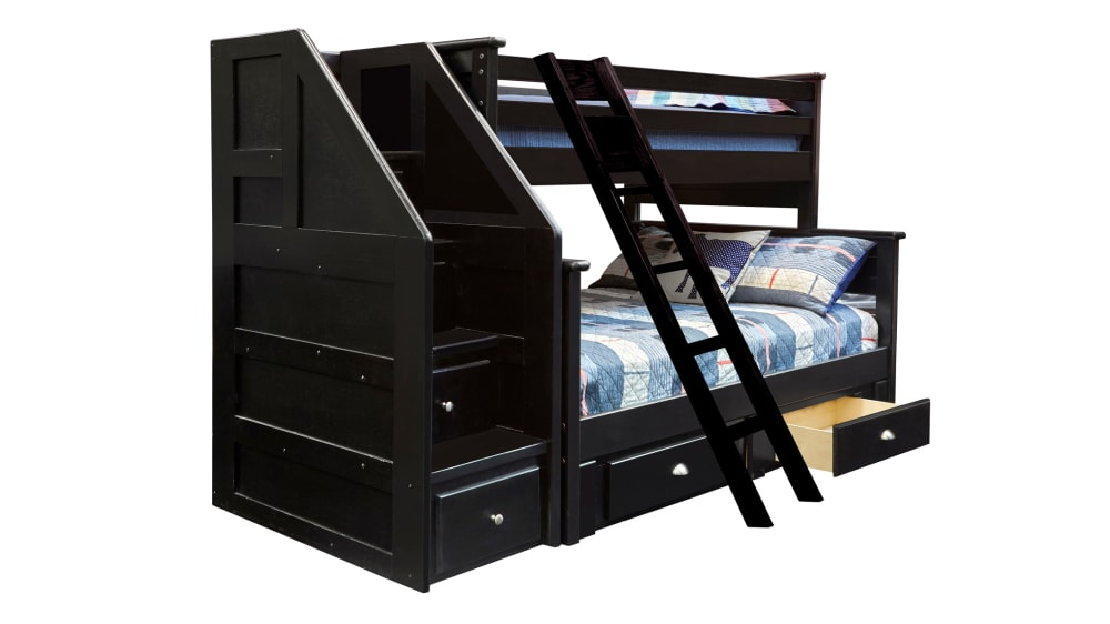 Turkey Creek Black Bunk Bed, , small