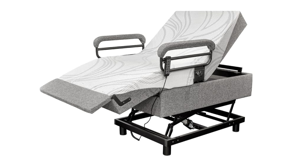 Twin Adjustable Bed/Lift Chair, , hi-res