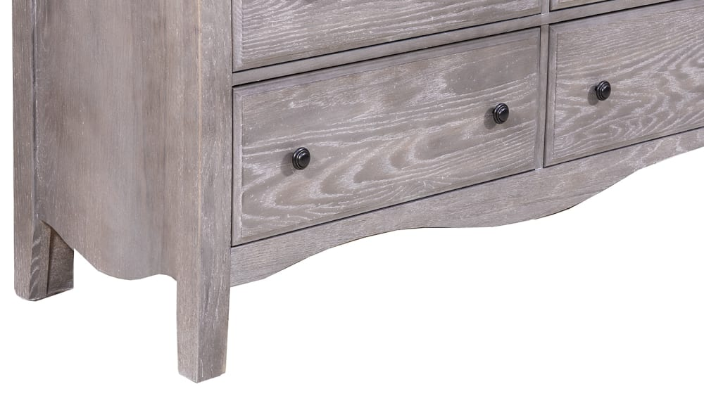 Casual Retreat Dresser and Mirror