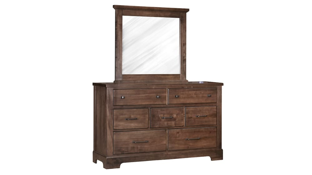 Mansion Rustic Dresser and Mirror