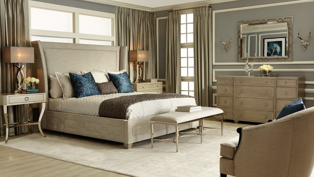 Criteria Upholstered King Bed
