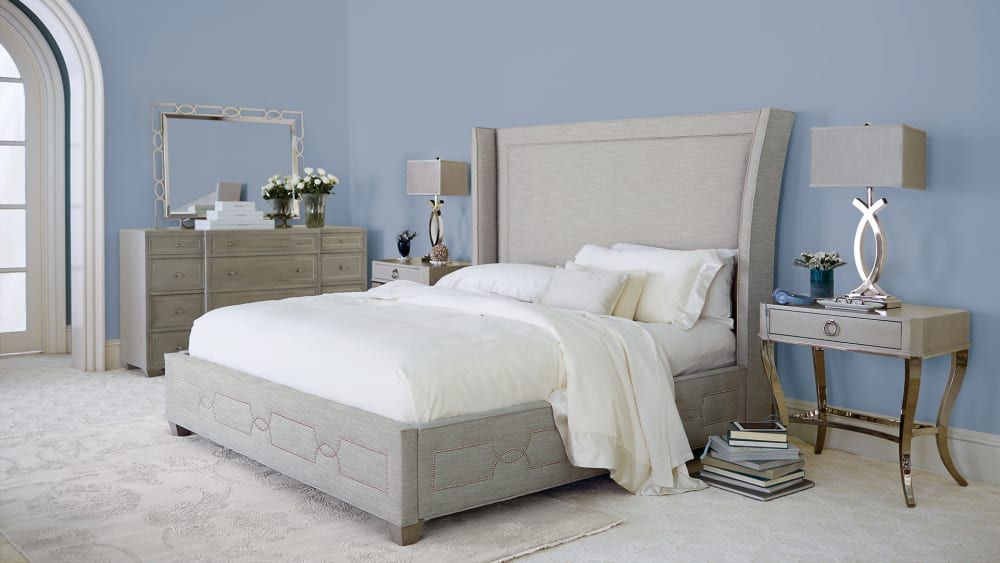 Criteria Upholstered King Bed, , hi-res