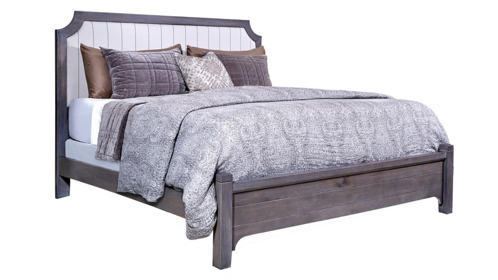 Folkstone Gray Queen Bed
