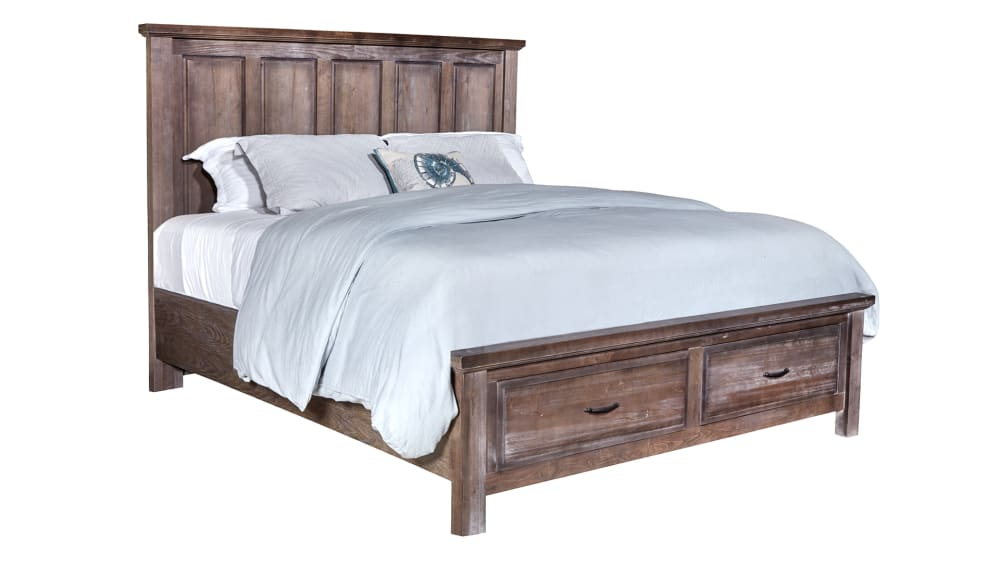 Maple Road Syrup King Bed
