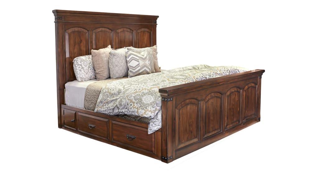 Colorado King Storage Bed