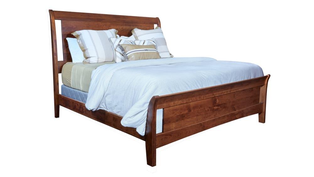 Rustic Cherry King Bed, , hi-res