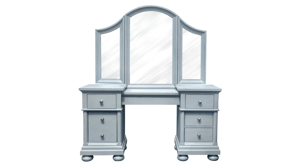 IMPORT BELLVILLE VANITY AND MIRROR, , hi-res