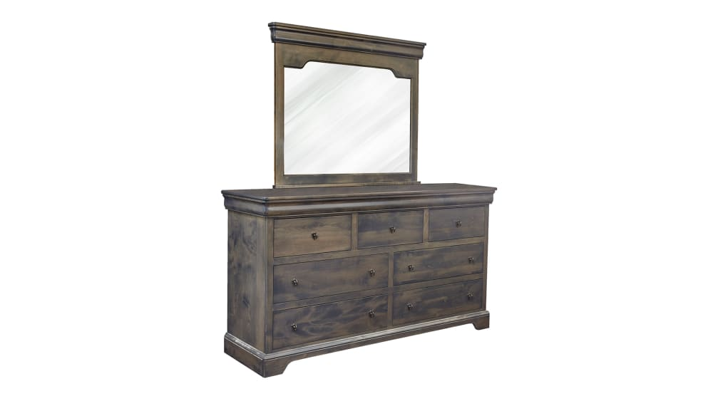Louie Gray Dresser and Mirror, , hi-res