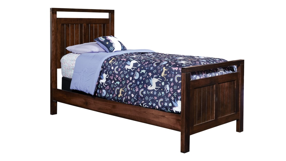 Modern Cherry Twin Bed
