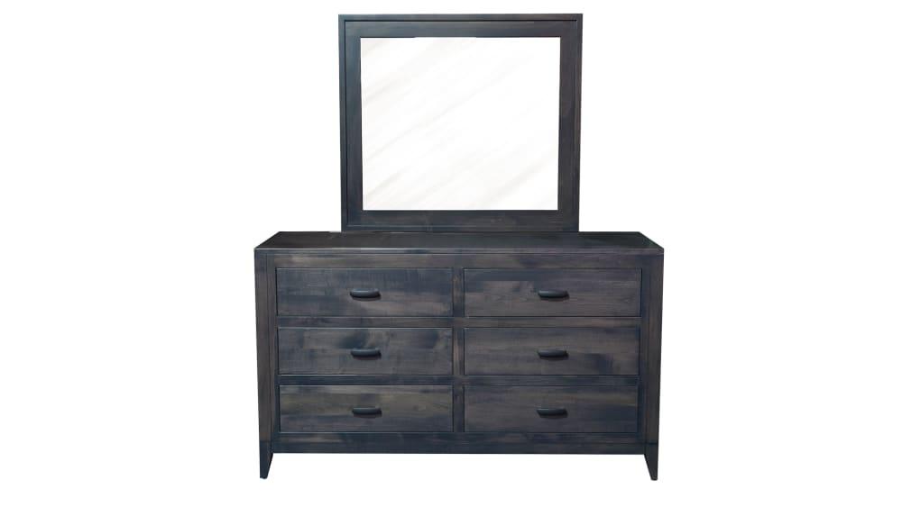 Modern Storm Dresser and Mirror