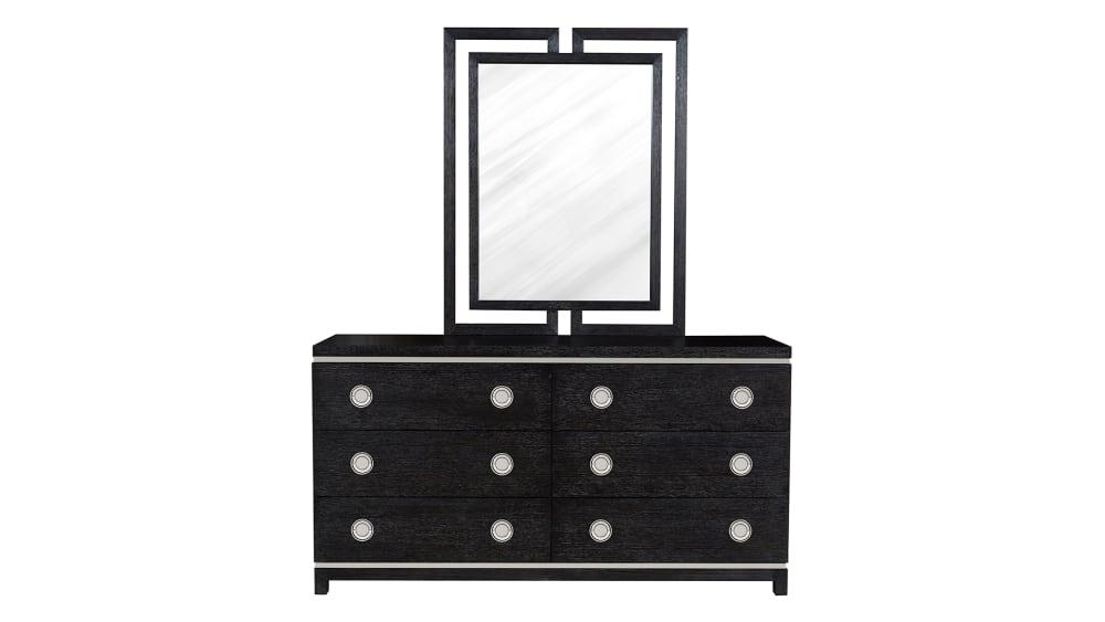 Import Decorage Dresser and Mirror, , hi-res