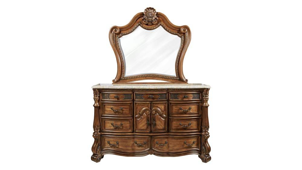 Import Eden's Paradise Dresser and Mirror, , hi-res