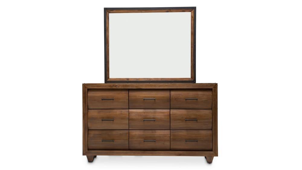 Brooklyn Walk Dresser and Mirror, , hi-res