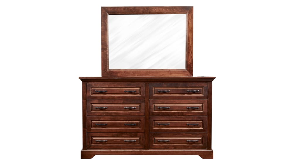 Lubbock Dresser and Mirror
