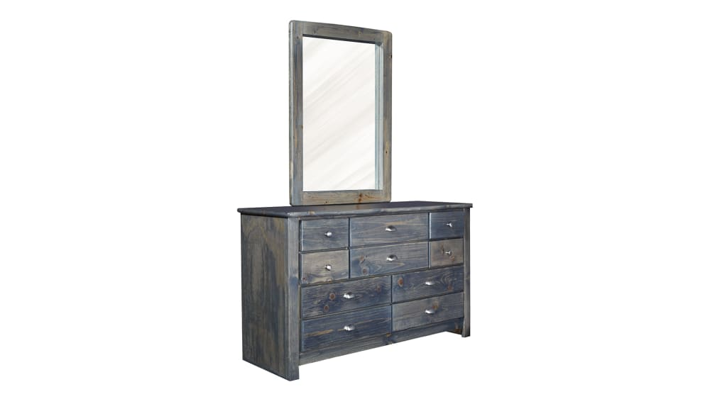 Turkey Creek Rustic Gray Dresser and Mirror, , hi-res