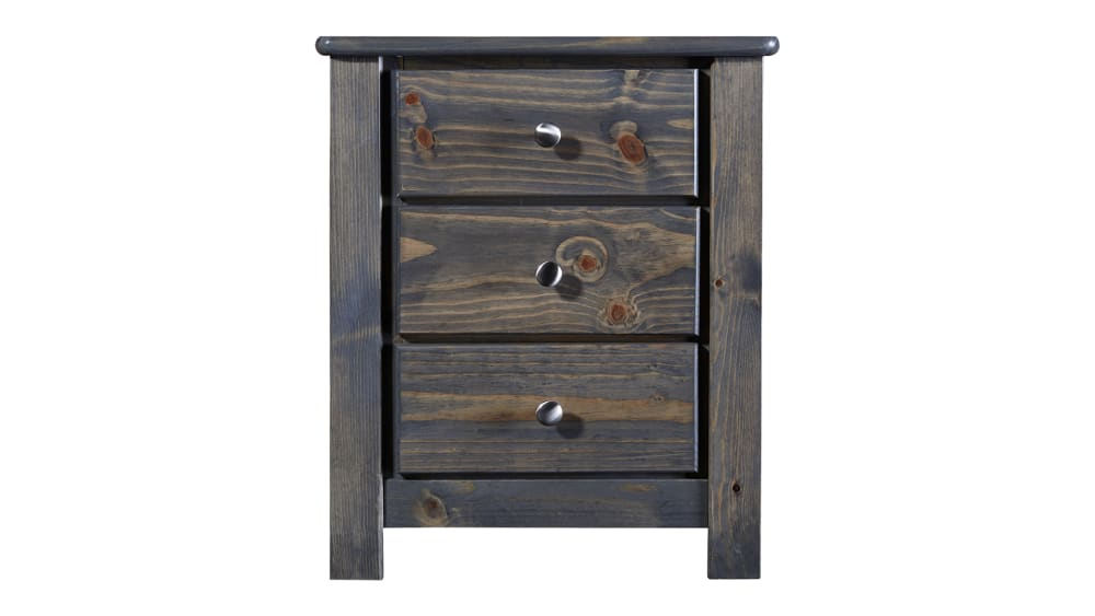 Turkey Creek Rustic Gray Nightstand
