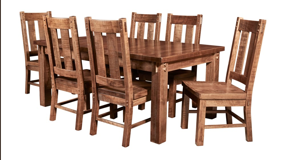 Houston Rough Sawn Dining Table, , hi-res