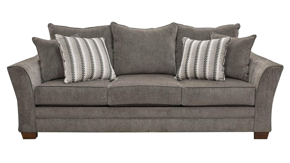 Milky Way Charcoal Queen Sleeper Sofa, , hi-res