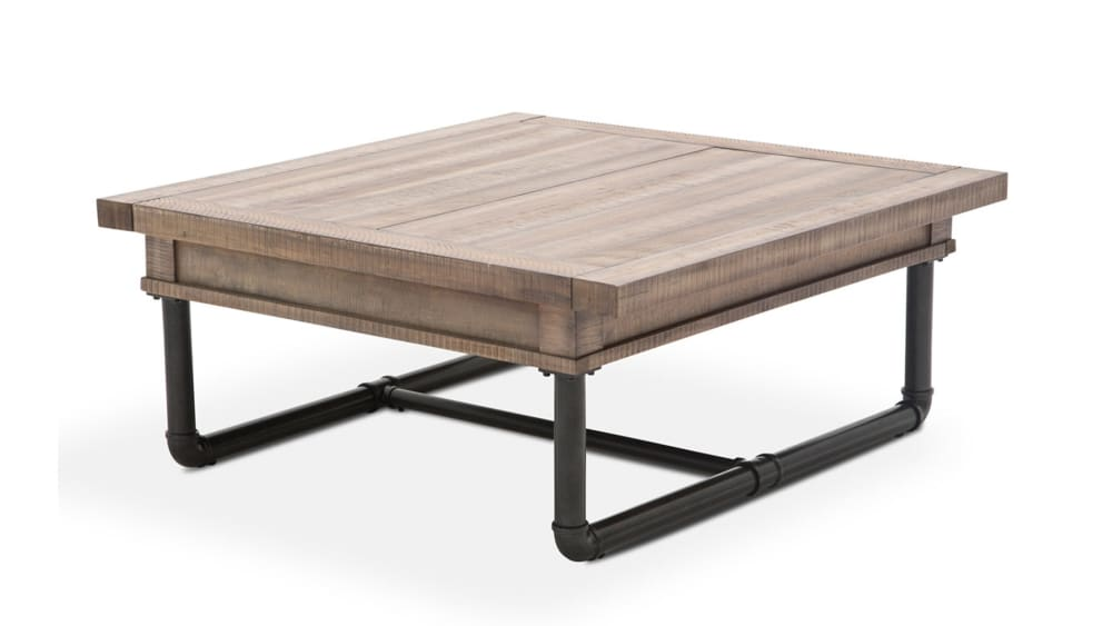 Import Reclaimed Crossing Storage Cocktail Table, , hi-res