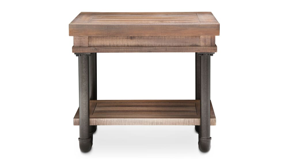 Import Reclaimed Crossing​ End Table, , hi-res