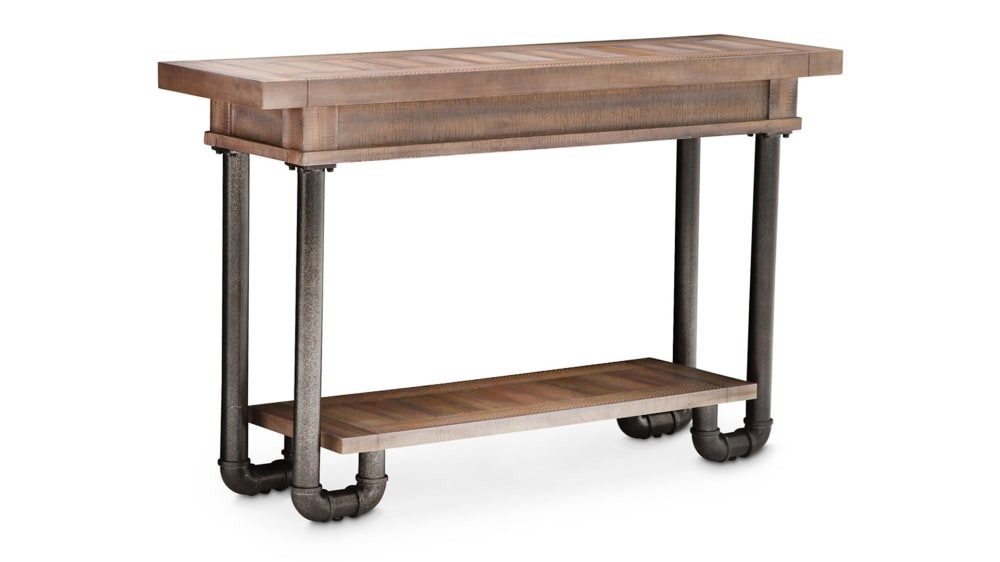 Import Reclaimed Crossing Console Table, , hi-res