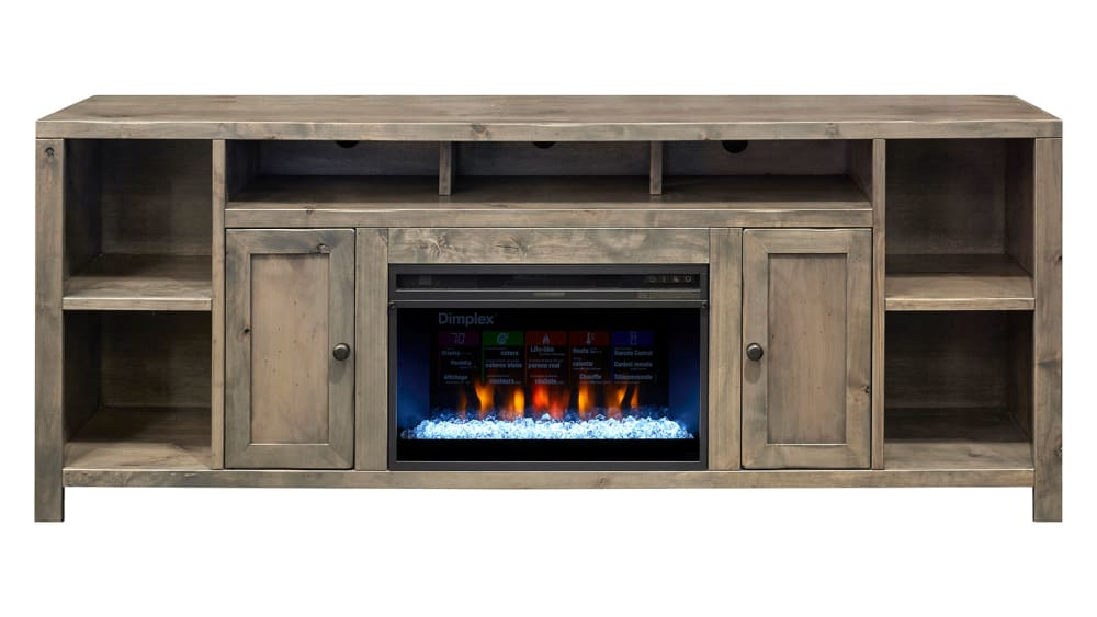 "Gardendale 84"" Console with Fireplace"